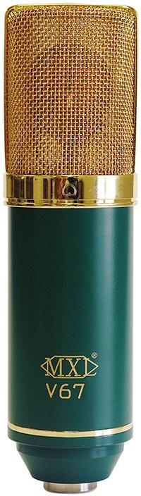 Le microphone à condensateur V67G de MXL
