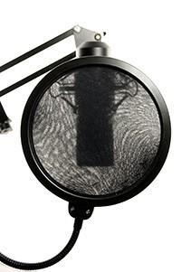 Un Filtre Anti-pop pour microphone