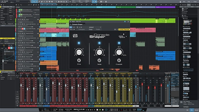 Le Séquenceur DAW Studio One 3.2