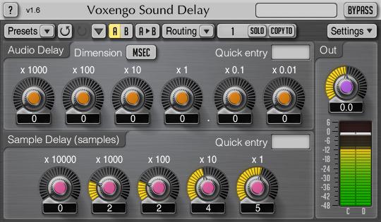 Voxengo-Sound-Delay