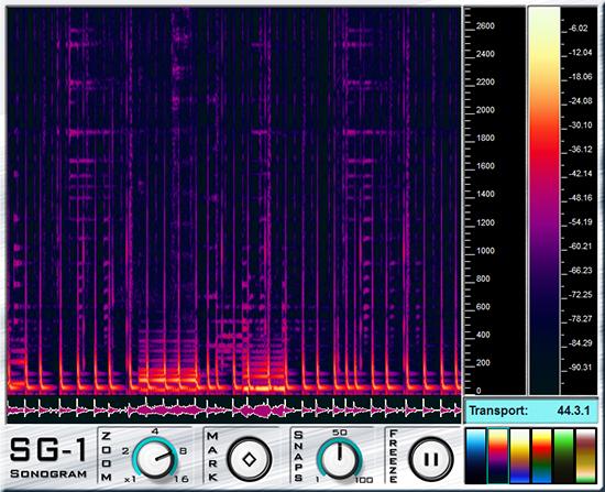 ag-works Sonogram SG-1 Plugin VST d'Analyse de Spectre