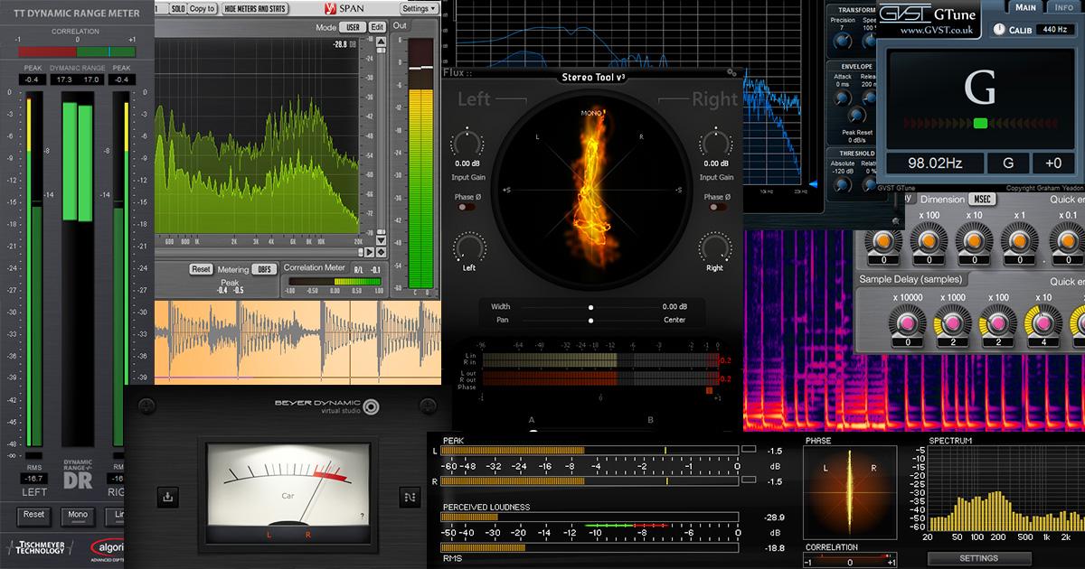 analyseur de spectre audio gratuit