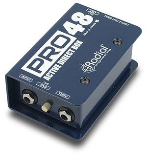 La boîte de direct Pro 48 de la marque Radial