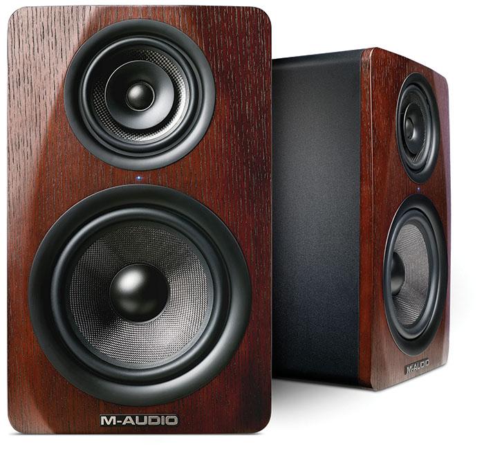 Enceintes de Monitoring M3-8 de la marque M-Audio