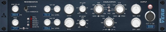 Plugin de Réverbe epicVerb de Variety of Sound