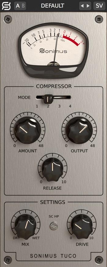 Interface de Tuco de Sonimus