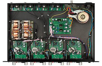 Circuits électriques du WA-412