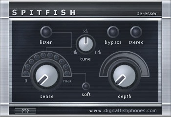 Le plugin Spitfish de Digital Fish Phones