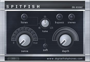 Le plugin Spitfish de Digital Fish Phones