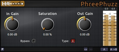 Plugin PhreePhuzz de LVC