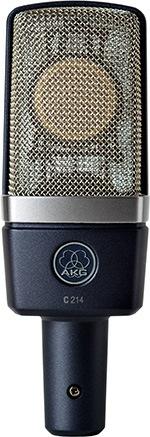 Microphone à Condensateur AKG C214