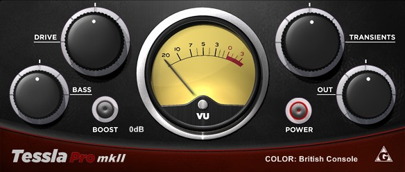 Plugin de Saturation TesslaPro mkII de Variety of Sound