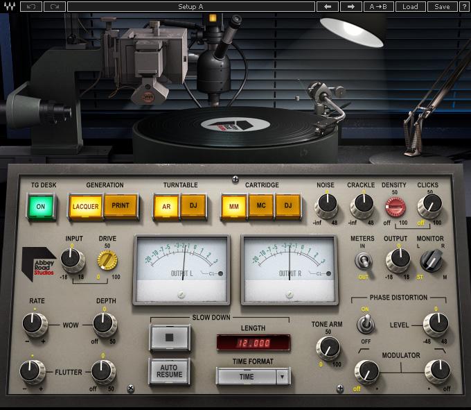Le plugin Abbey Road Vinyl de Waves