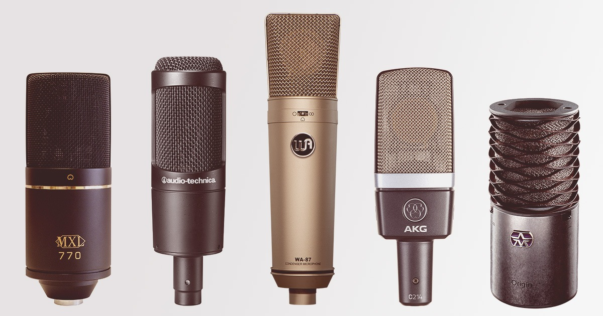 10 Des Meilleurs Micros Pour Lenregistrement De Chant De Voix