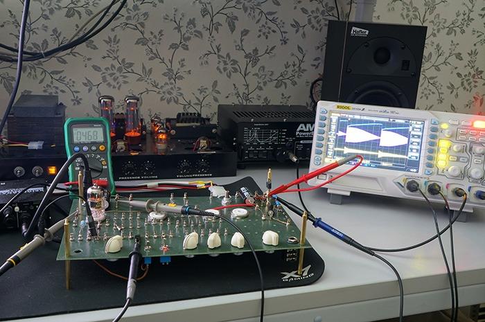 Mesures de circuits électroniques avant simulation