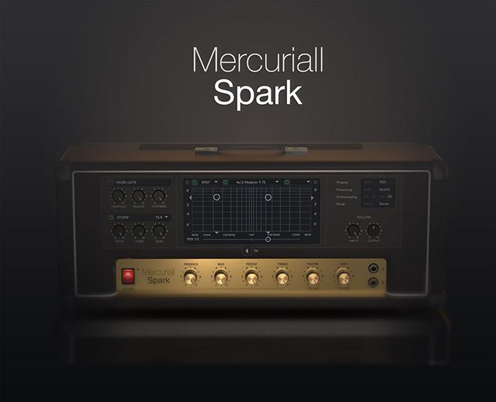 Mercuriall Spark - Simulation d'Amplis style Marshalls