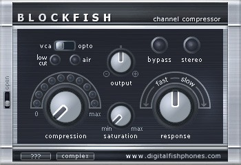 Le plugin de Compression Blockfish