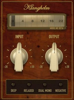 Le plugin de Compression DC1A