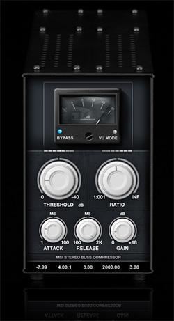 Le plugin de Compression Stereo Buss Compressor
