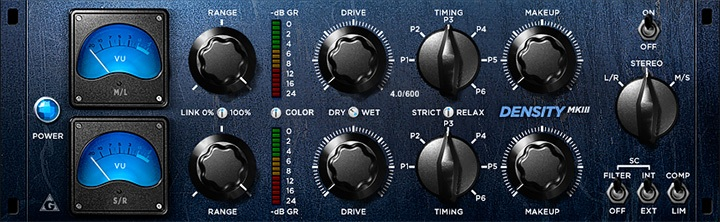 Le plugin de Compression Density mkII