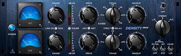 Le plugin de Compression Density mkII