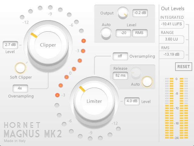 Le plugin Magnus MK2 d'HoRNet