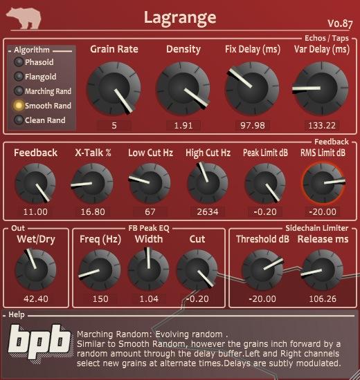 Le plugin Lagrange de Ursa DSP