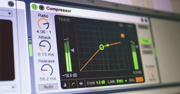 Le compresseur d'Ableton Live