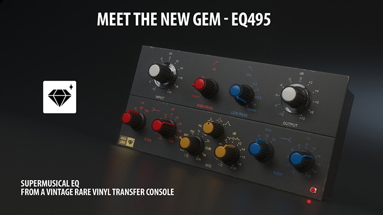 Le plugin EQ495 d'Overloud