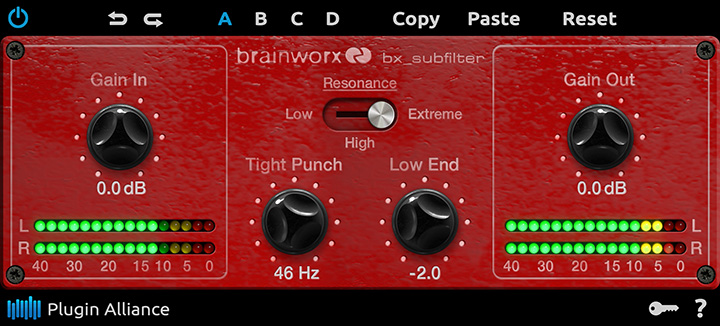 Bx_subfilter de Plugin Alliance