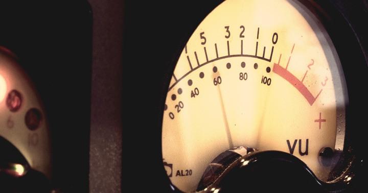 Exemple de Vu-mètre analogique