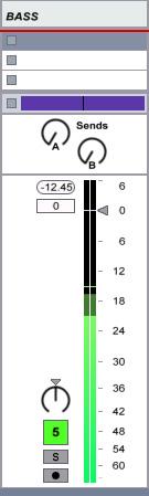 Un exemple d'enregistrement à un niveau correct