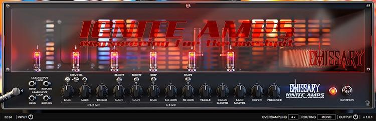 Le simulateur d'ampli guitare Emissary de Ignite Amps