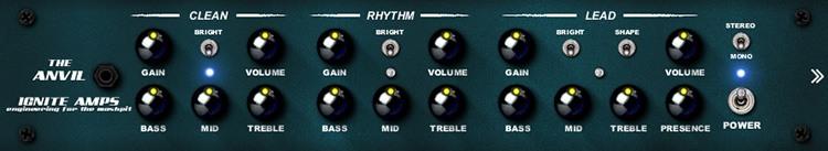 Le simulateur d'ampli guitare The Anvil d'Ignite Amps
