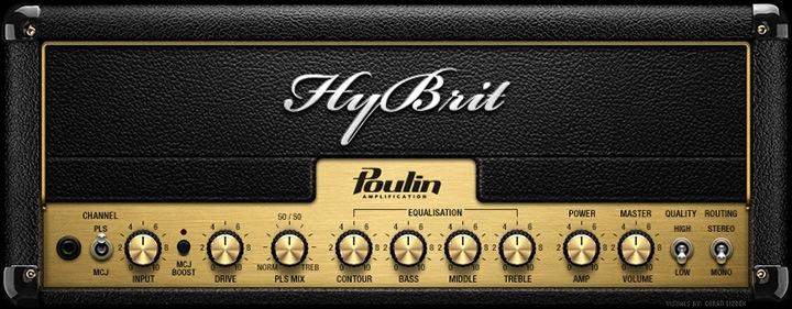 Le simulateur d'ampli guitare HyBrit de LePou Plugins