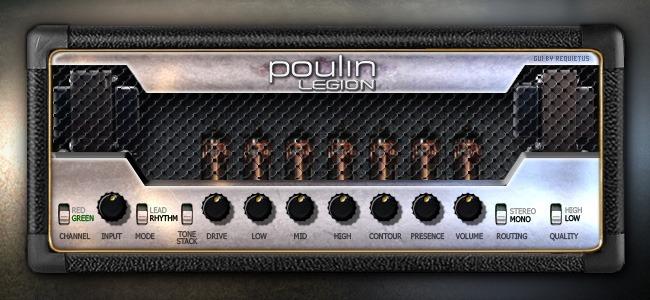 Le simulateur d'ampli guitare LeGion de LePou