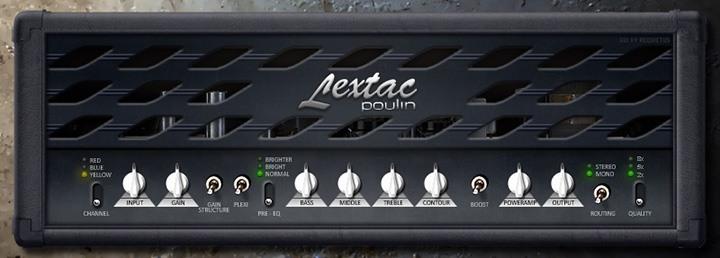 Le simulateur d'ampli guitare LeXtac de LePou