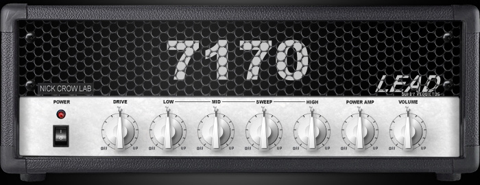 Le simulateur d'ampli guitare 7170 de Nick Crow