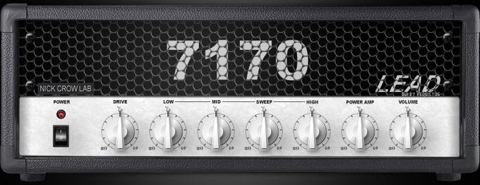 Le simulateur d'ampli guitare 7170 de Nick Crow