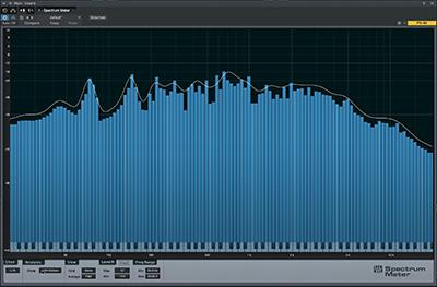 Outils de mesure de Studio One 3.5