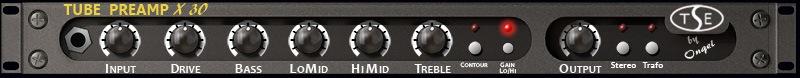 Le simulateur d'ampli guitare X30 de TSE Audio