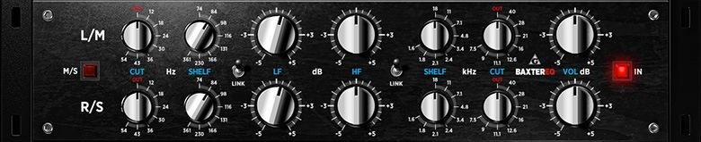 Le plugin d'égalisation pour le mastering BaxterEQ de Variety of Sound