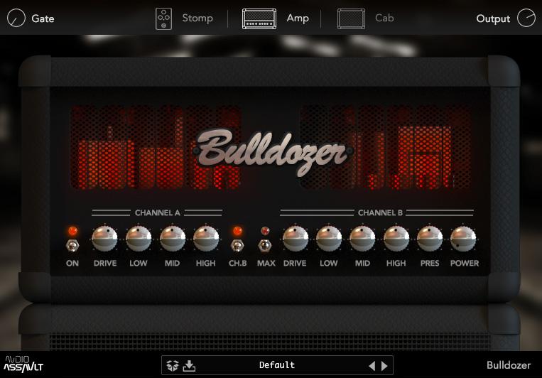 L'ampli Bulldozer d'Audio Assault