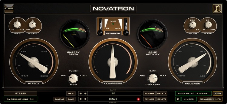 Interface de Kush Novatron