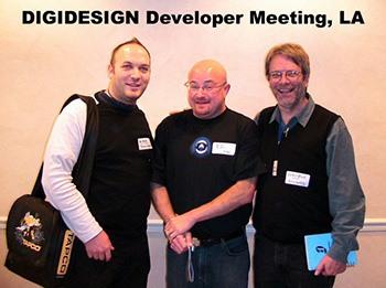 Dirk Ulrich, Ed Gray et George Massenburg