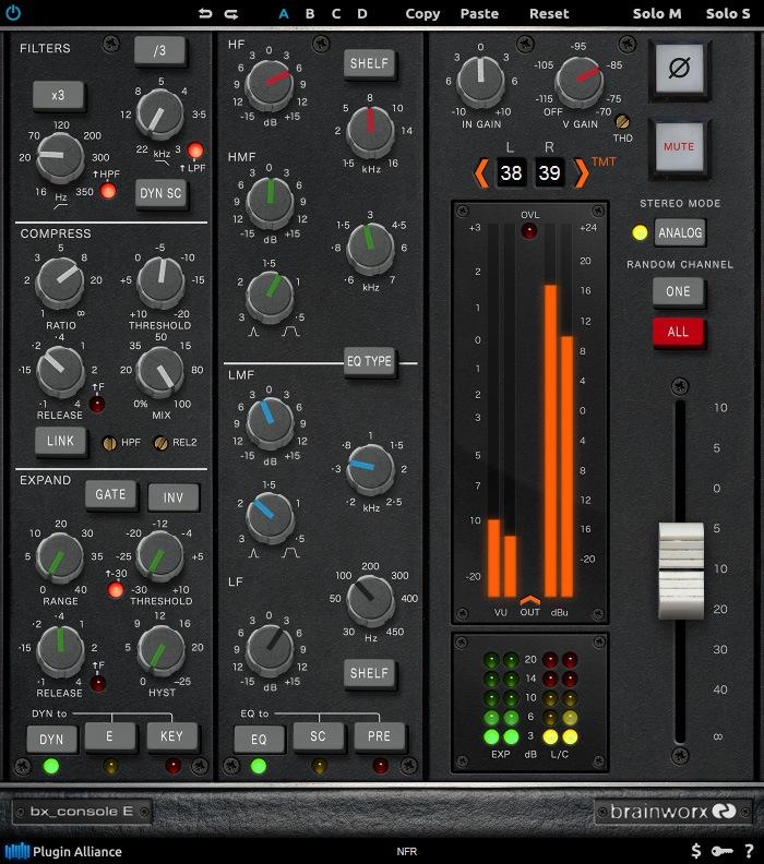 L'interface de bx_console E