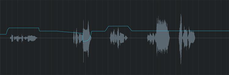 Automation d'une piste de voix