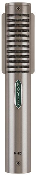 Le microphone à ruban R-121 de Royer