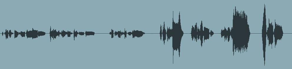 Une piste de voix qui pourrait utiliser l'automation
