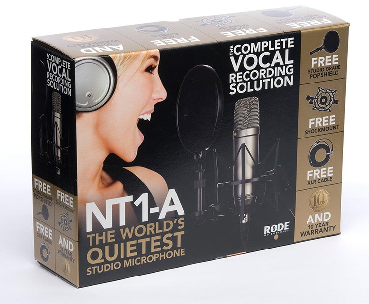 Le Kit Microphone NT1-A de Rode